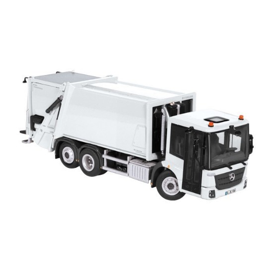Picture of MB Faun Variopress garbage truck - white