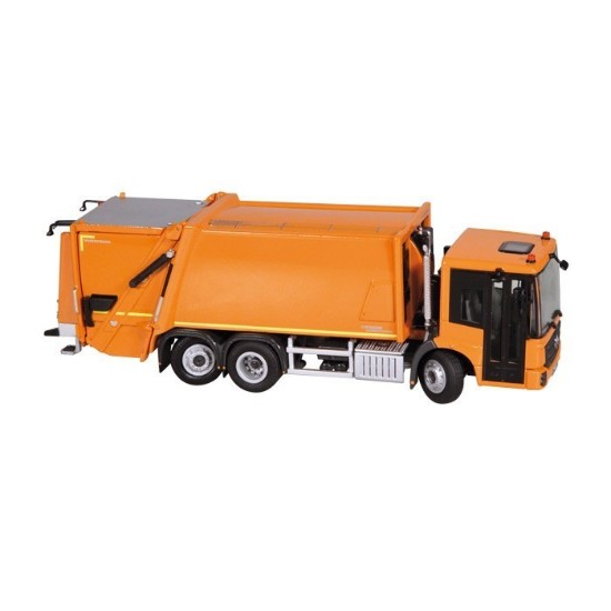 Picture of MB Faun Variopress garbage truck - orange