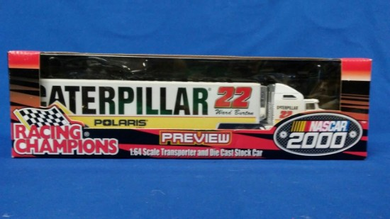 Picture of 2000 NASCAR Transporter -Caterpillar /Ward Burton #22