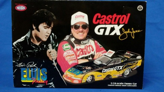 Picture of 1998 Mustang Funny Car, John Force - Castrol/Elvis