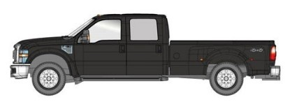 Picture of Ford F-350 XLT DRW crew cab pickup black/chrome trim