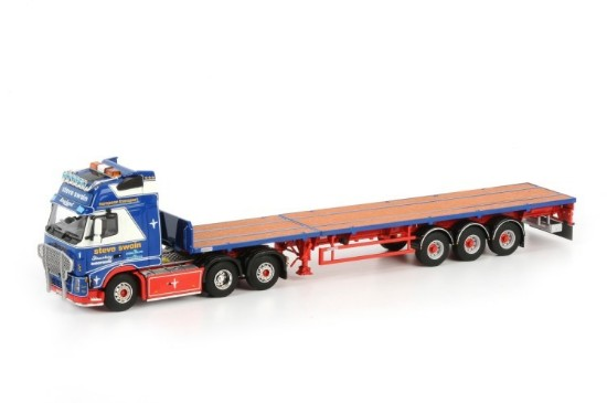 Picture of Volvo FH Globetrotter XL 6x2 Flatbed STEVE SWAIN