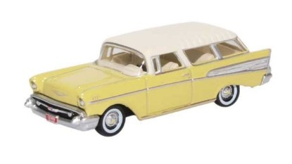 Picture of 1957 Chevrolet Nomad  Station Wagon  Colonial Cream, India Ivory