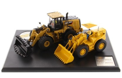 Picture of Caterpillar 966A+ 966M  wheel loaders  set