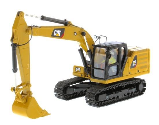 Picture of Caterpillar 320 GC track excavator