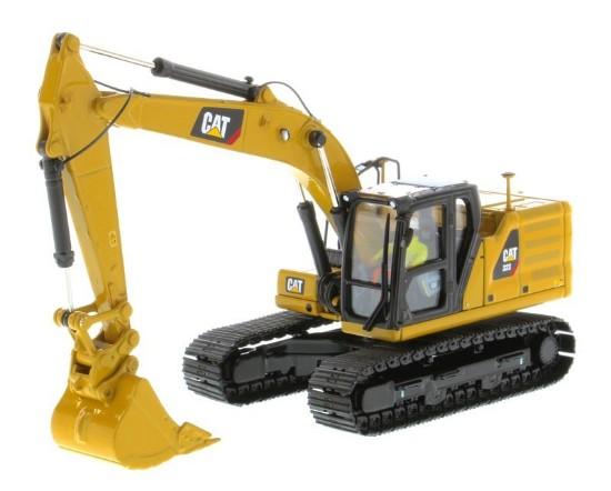 Picture of Caterpillar 323 track excavator