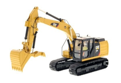 Picture of Caterpillar 323F track excavator with hydraulic thumb