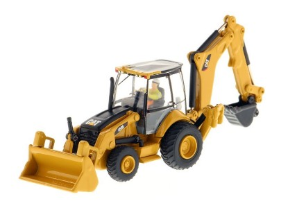 Picture of Caterpillar 450E tractor loader backhoe