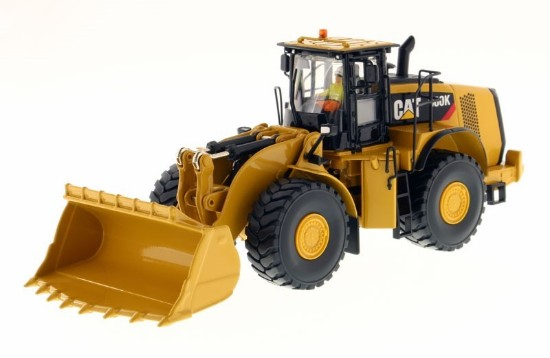 Picture of Caterpillar 980K wheel loader with rock bucket