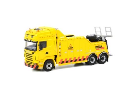 Picture of Scania R(6) Topline Falkom 3x tow truck FALKOM