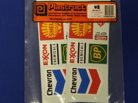Picture of Oil company decals