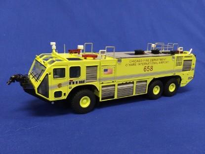 Picture of Oshkosh Striker 3000 airport fire truck Chicago