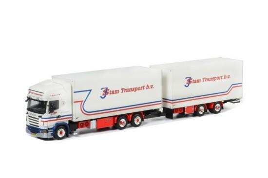 Picture of Scania R(6) Topline 6x4 box truck+CC trailer J.STAM
