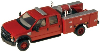 Picture of Ford F-550 XLT Dual Rear Wheel Crew-Cab Brush Fire Truck