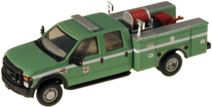 Picture of Ford F-550 XLT Dual Rear Wheel Crew-Cab Brush Fire Truck -- USDA-USFS
