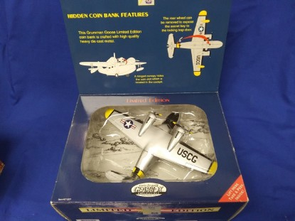 Picture of USCG 1938 Grumman Goose Coin Bank