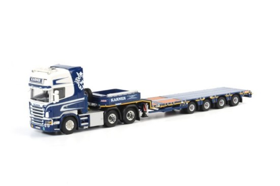 Picture of Scania R(6) Topline 6x4 Nooteboom Step frame trailer (4 axle) KARNER