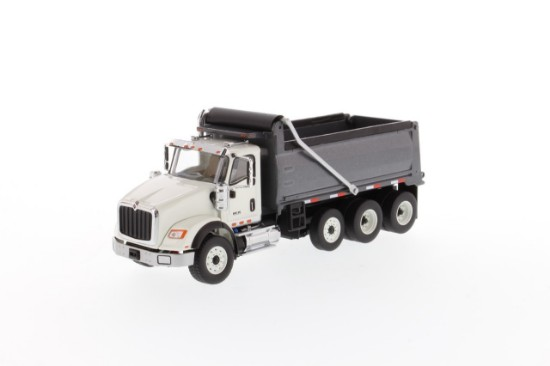 Picture of International HX620 tridem dump - white/gun metal