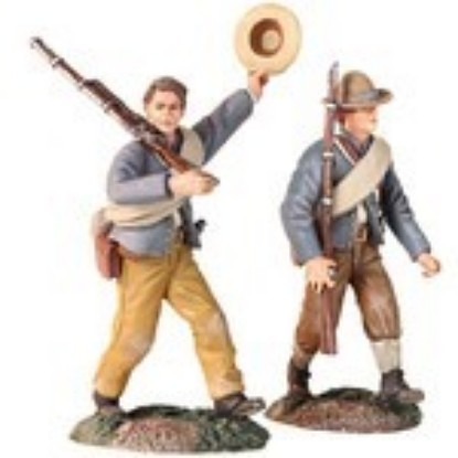 Picture of Civil War Confederate Infantry Marching Set