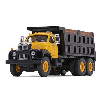 Picture of 1960 Mack Model B-61 Dump - yellow/black
