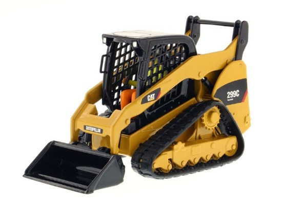 Picture of Caterpillar 299C track skid steer loader