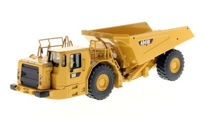 Picture of Caterpillar AD45B underground mining articulated dump truck