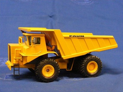 Picture of Faun K100 mine dump yellow   steerable