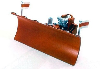 Picture of Plow blade for trucks and 2000/3000 tractors