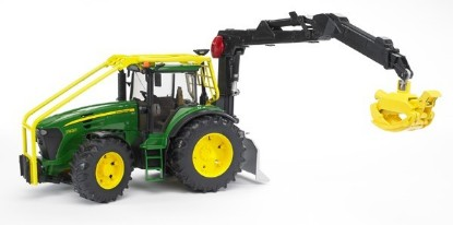 Picture of John Deere 7930 forestry tractor