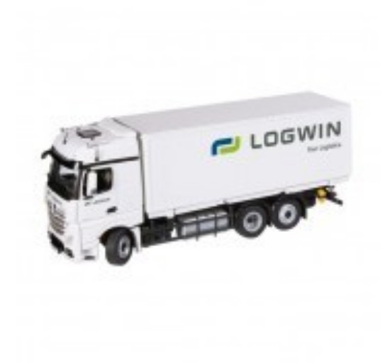 Picture of MERCEDES BENZ Actros 6x2 swapbody LOGWIN