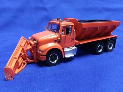Picture of IH 10 wheel sander/snowplow orange
