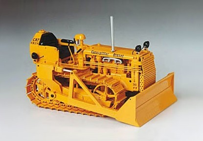 Picture of Cat D2 dozer  brass