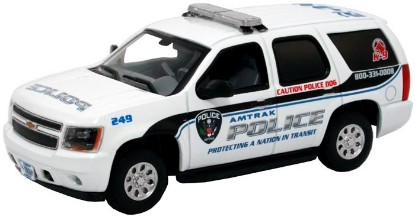 Picture of Chevrolet Tahoe - Police Package - Amtrak Police K-9