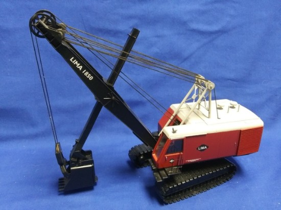 Picture of Lima 1850 cable shovel -  red