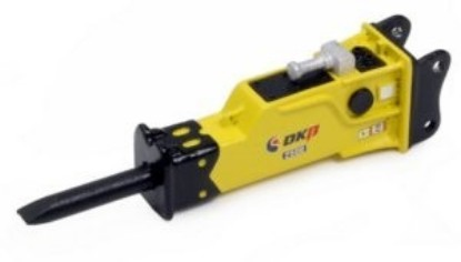 Picture of OKB 2500 Hydraulic Hammer (25-30 ton)  with direct pin on saddle