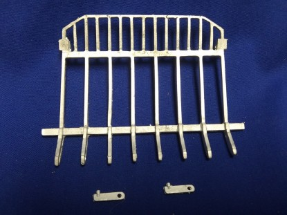Picture of Mann rake attachment for D8/D9 and similar machines    unpainted kit
