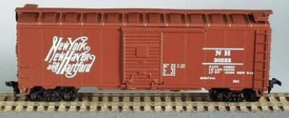Picture of 40' Double Sheathed Boxcar - NY, New Haven & Hartford (32161)
