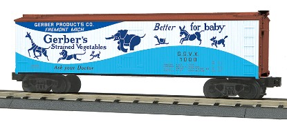 Picture of 40' ACF Wood Reefer - Gerber Baby Food (#1001)