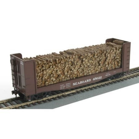 Picture of 40' Pulpwood Car - Seaboard Air Line