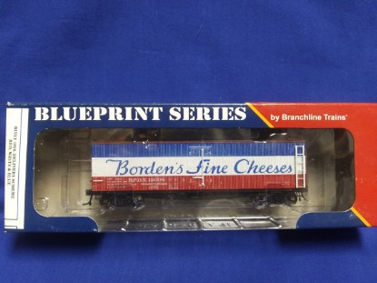 Picture of 40' ACF Wood Reefer - Borden's Fine Cheeses (12008)