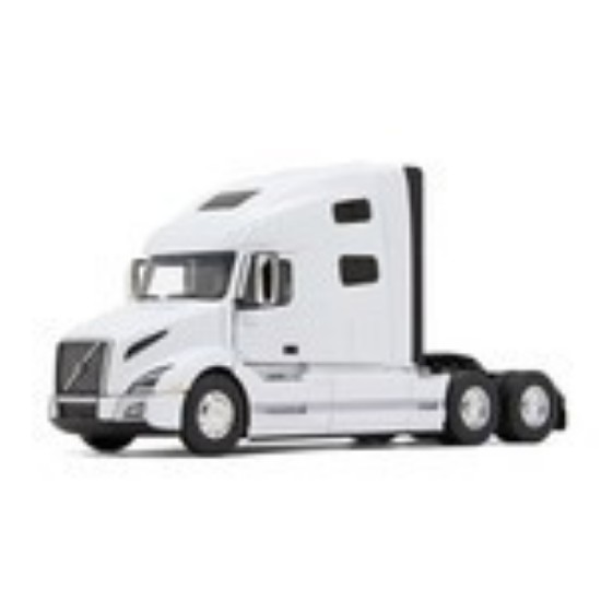 Picture of Volvo VNL 760 sleeper cab tractor  - white