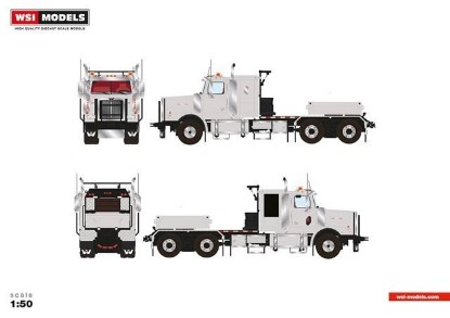 Picture of Western Star 4900 6x4 tractor grey
