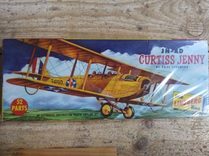 Picture of Curtiss Jenny JN-4D biplane