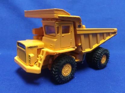 Picture of Komatsu HD320-2 quarry truck   orange