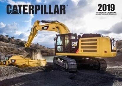 Picture of Caterpillar 2019 Calendar  16 month