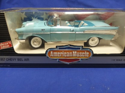 Picture of 1957 Chevy Bel Air Convertible - Blue
