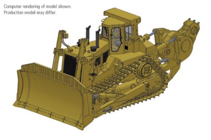 Picture of Cat® D11N Dozer with SU-Blade & Impact Ripper