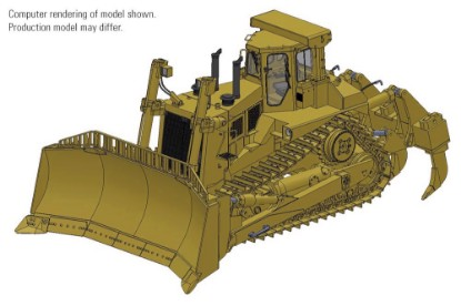 Picture of Cat® D11N Dozer with U-Blade & Multi-Shank Ripper