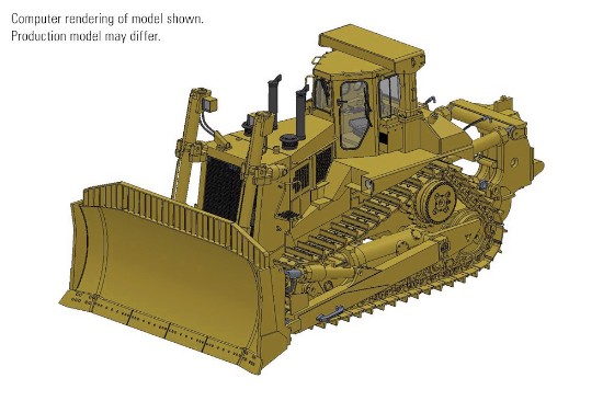 Picture of Cat® D11N Dozer with SU-Blade & Single-Shank Ripper