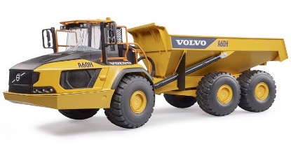 Picture of Volvo A60H articulated dump